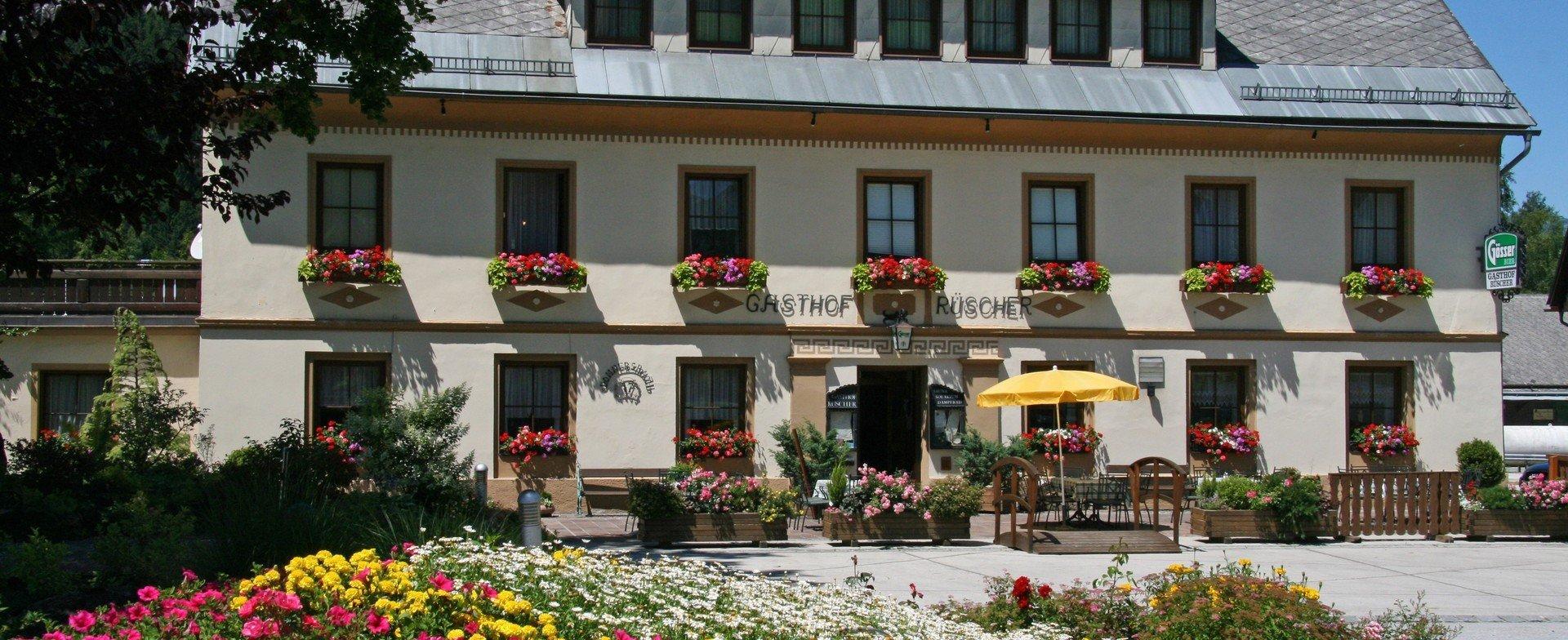 Gasthof Rüscher - Restaurant - Zimmer - Wellness